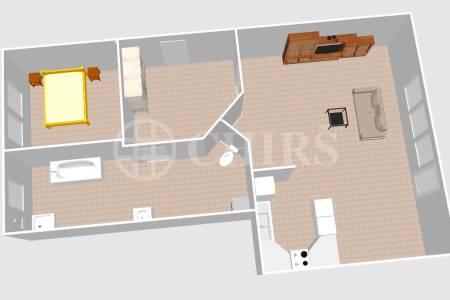 Prodej bytu 2+kk, DV, 60 m2, ul. Hlavní 2741/124, Praha 4 – Záběhlice