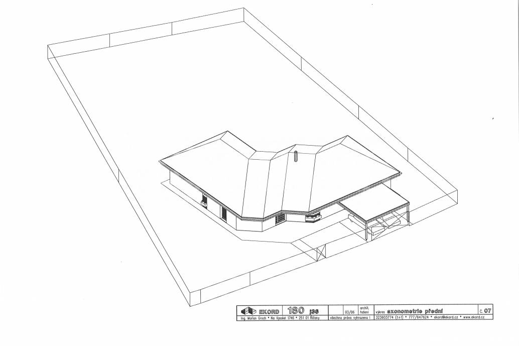 Prodej rodinného domu 4+kk/2xGS, OV, 180m2, Trnová u Jíloviště