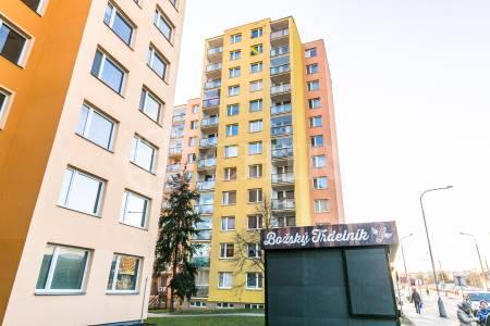 Pronájem bytu 1+1 s balkonem, OV, 44m2, ul. Bratří Venclíků 1074/10, Praha - Černý Most